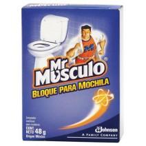 Mr. Musculo baño bloque pinodoro x2
