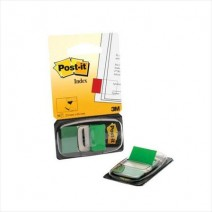 Post-it Banderitas 3M 25,4mm x 43,2mm color verde