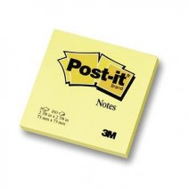 Post-it Notas Adhesivas 3M 76mm x 76mm Amarillas