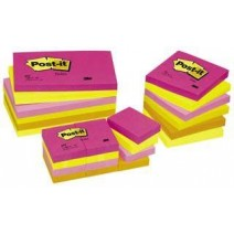 Post-it Notas Adhesivas 3M 34,9mm x 47,6mm colores surtidos
