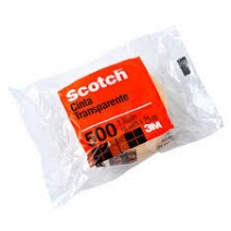 Cinta 3M Scotch 500 12mm x 10m.