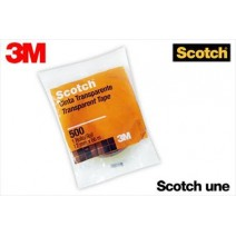 Cinta 3M Scotch 500 12mm x 66m.