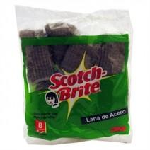 Esponja de aluminio Scotch-Brite x12 u
