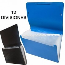 Carpeta CFuelle 12 divisiones Oficio