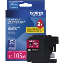Cartucho Brother LC-105 Original - Magenta