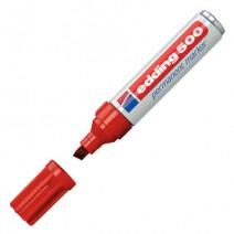 Marcador Edding 500 - Rojo