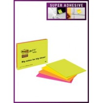 Post-It 3M N° 660 99mm x 149mm C/Diseño - blanco