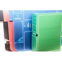 Caja archivadora biblos Oficio - Roja