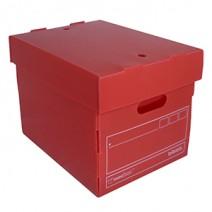 Caja Biblos multiuso - Roja