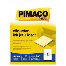 Etiqueta Pimaco A4368 caja 100hjs.