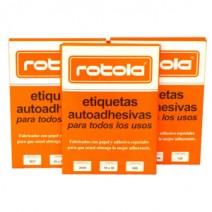 Etiqueta Rotola N°1622 16 x 21mm