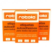 Etiqueta Rotola N° Ojal 13mm Redonda