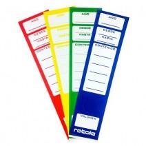 Lomo P/Bibliorato Rotola Carta - Rojo