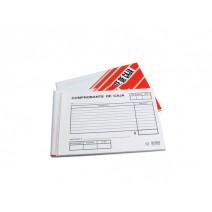 Formulario comprobante de caja N° 1001