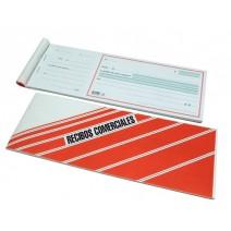 Formulario recibos comerciales en $ N° 1009