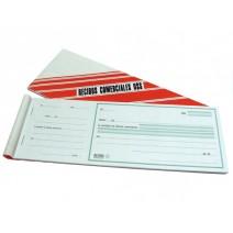 Formulario recibos comerciales en U$S N° 1023