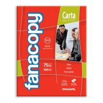 Fanacopy Carta 75 grs. Paquete 500 hojas