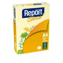 Report A4 75 grs. 500 Hojas - Amarillo
