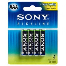 Pila AAA Sony alcalina x unidad