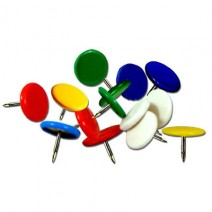 Chinches de colores x 10 unidades