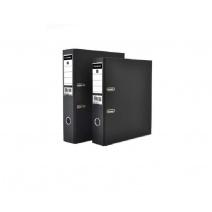 Bibliorato Studmark A4 80mm - negro y pvc