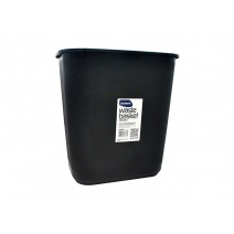 Papelera plástica Studmark - negra