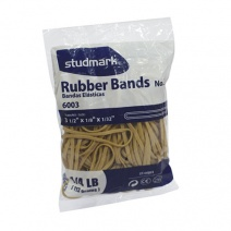 Bandas elásticas 60mm 1/8 kg caucho Studmark