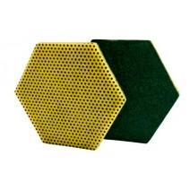 Fibra 3M de doble acción 96 hexagonal