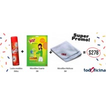 PROMO PACK LUSTRA MUEBLES
