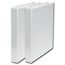 Bibliorato Oficio L/Fino 4cm - blanco