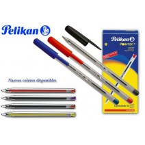 Bolígrafo Pelikan pointec - rojo