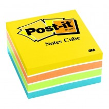 Post-it 3M Minicubo N° 654-4PK 47,6X47,6 4 colores