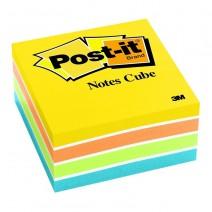 Post-it 3M Minicubo N° 654-4PK 47,6X47,6 4 colores