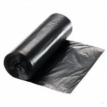 Bolsa de residuo negra en rollo 50x55x100u