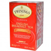 Té Twinings English Breakfast tea